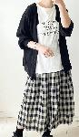 【sale!!】  シアーニットの2WAYカーディガン