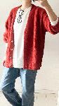 USAコットン オーバーサイズ 長袖 Tシャツ
