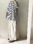 【即納♪】リネンウールのワイドパンツ・handmade