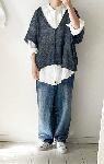 Vネックのプルオーバーが編める糸&編み図セット
