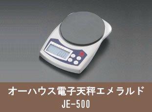 オーハウス電子天秤エメラルド JE500