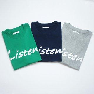 ListenTシャツ【国産・日本製】綿100%/メンズ