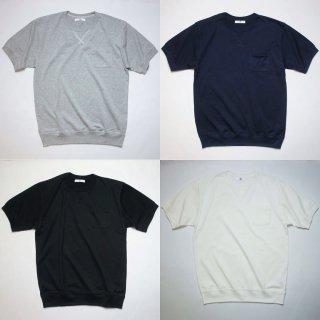 40/2天竺 ガゼット・リブ付ポケットTシャツ【日本製】