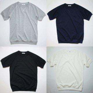40/2天竺 ガゼット・リブ付ラグランTシャツ【日本製】