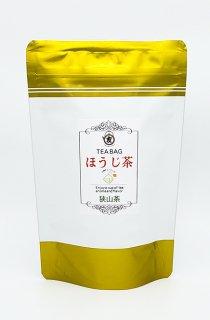 ほうじ茶ティーバッグ(三角・ひもあり)3g×15個入