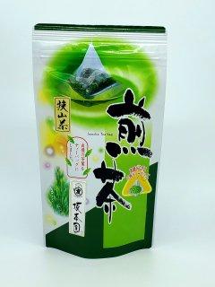 煎茶ティーバッグ(三角・ひもあり)3g×20個入
