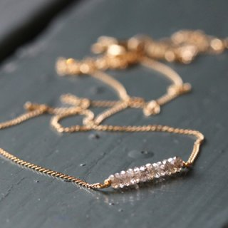 ディスク ダイヤモンド ネックレス