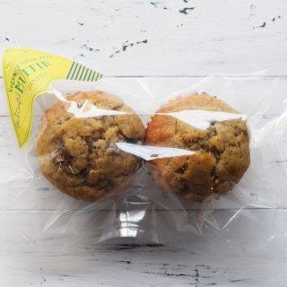 【冷凍】朝食用マフィン バナナ 2個セット ヴィーガン&グルテンフリー の商品画像