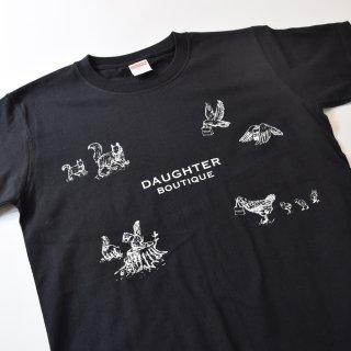 Tシャツ 大人 Sサイズ ブラック DAUGHTER BOUTIQUEオリジナルの商品画像