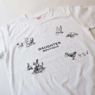 Tシャツ 大人 Sサイズ ホワイト DAUGHTER BOUTIQUEオリジナルの商品画像