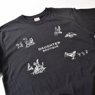 Tシャツ 大人 Lサイズ ブラック DAUGHTER BOUTIQUEオリジナルの商品画像