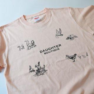 Tシャツ 大人 Mサイズ ピンク DAUGHTER BOUTIQUEオリジナルの商品画像