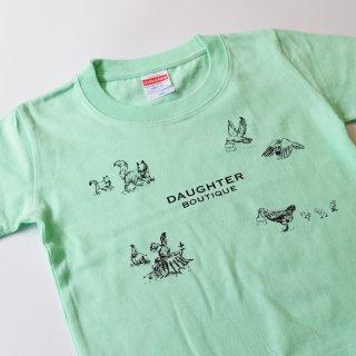 Tシャツ キッズ 100サイズ グリーン DAUGHTER BOUTIQUEオリジナルの商品画像