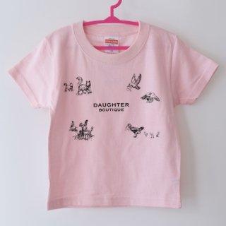 Tシャツ キッズ 120サイズ ピンク DAUGHTER BOUTIQUEオリジナルの商品画像