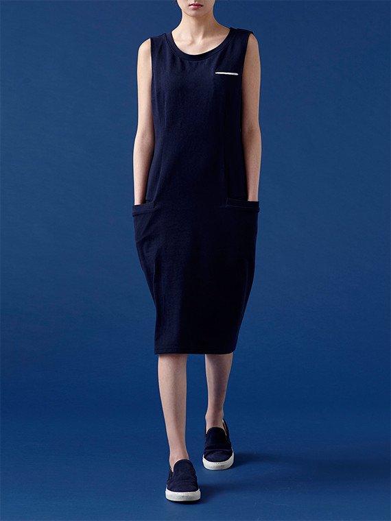 straight pocket dress