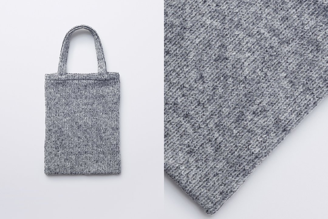 A3 tote bag -gray
