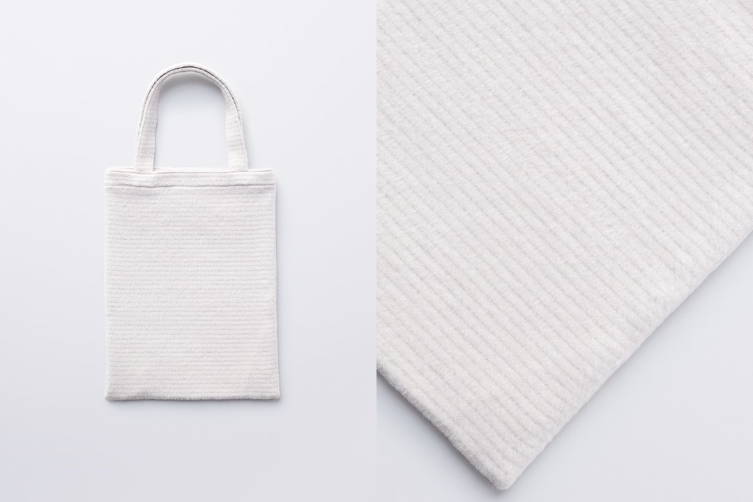 A3 tote bag -white