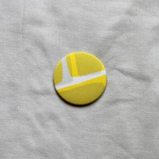 はしもとなおこ/overlap Yellow ハンドミラー