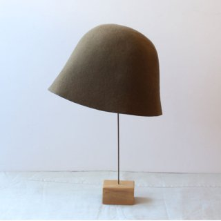 mature ha./free hat back stitch(mocha)