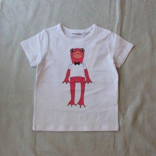 mini rodini/FROG SP Tシャツ(pink)【30%off】
