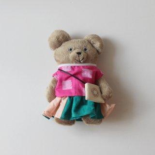サリークシー/くまのぬいぐるみ(ツートーンのスカート)