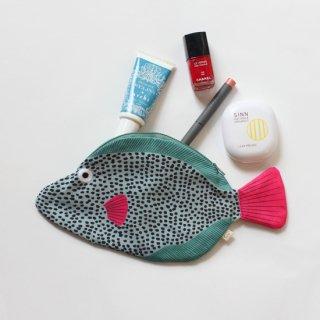 DON FISHER/魚のポーチ(モンガラカワハギ)