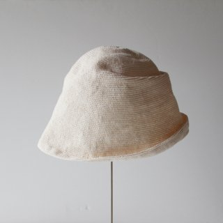 mature ha./free hat linen(ivory)