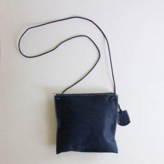 REN/ベビーバッファロー・スクエアサコッシュ(indigo blue)