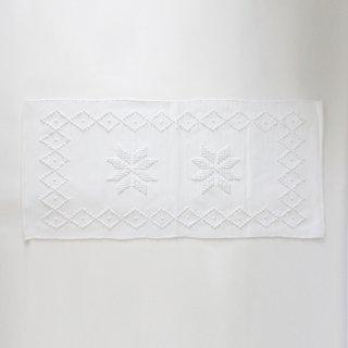 GRANDMA SERIES/ポルトガル 手編みのマット(white-A)