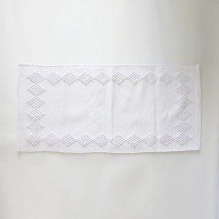 GRANDMA SERIES/ポルトガル 手編みのマット(white-B)