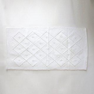 GRANDMA SERIES/ポルトガル 手編みのマット(white-C)