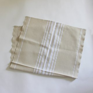 ONA-TISS/バスクリネン SAFARI キッチンタオル(Blanc)