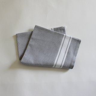 ONA-TISS/バスクリネン ARGUIA キッチンタオル(Gris Blanc)