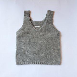 koton/ラムウール キャミベスト(ライトグレー)【price down】