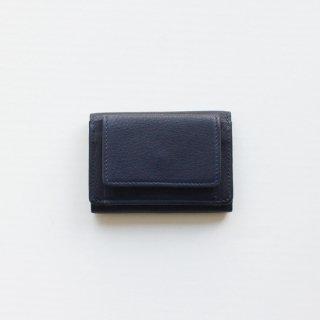 REN/ベビーバッファロー・ミニウォレット(indigo blue)