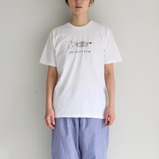 pot and tea/トランペットTシャツ