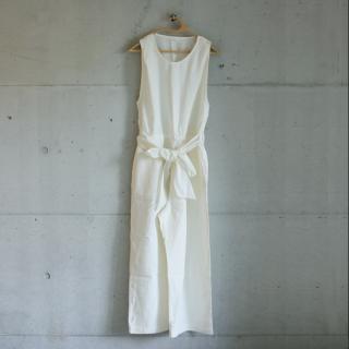 koton/リネンオールインワン(ホワイト)【price down】