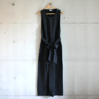 koton/リネンオールインワン(ブラック)【price down】