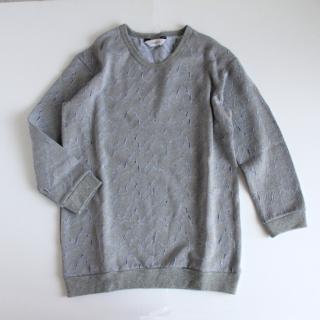 sneeuw/マウンテンJQプルオーバー(grey)【price down】