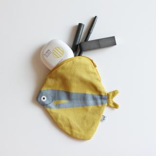DON FISHER/魚のポーチ(ブルーのベンテンウオ)