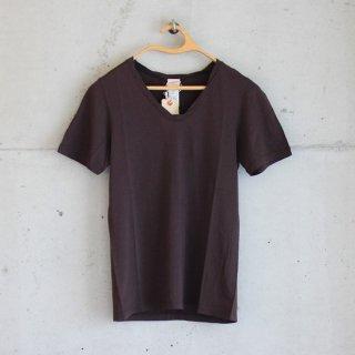 Healthknit/スーパーソフトジャージー半袖Tシャツ(Dark Brown)