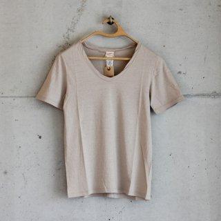 Healthknit/スーパーソフトジャージー半袖Tシャツ(beige)