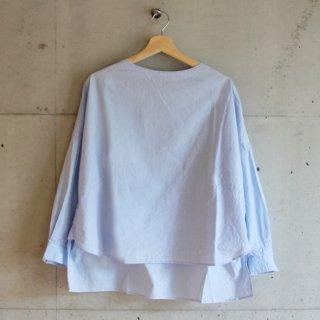 koton/スビンオックスeaseシャツ(サックス)