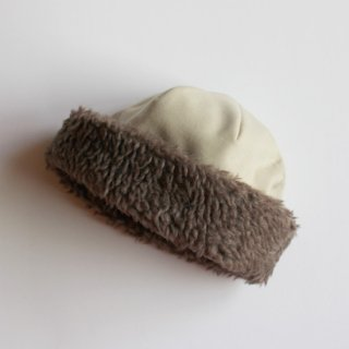 mature ha./hood cap(light beige)