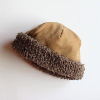 mature ha./hood cap(camel)