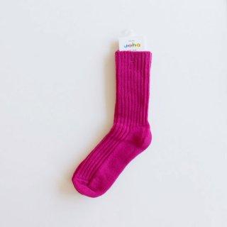 joha/ウールソックス(Pink)