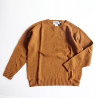Harley of Scotland/ラムウール クルーネックセーター(Vintage Vicuna)