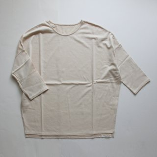 koton/30/_度詰天竺ドロップショルダーTシャツ(エクリュ)