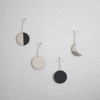 THE GREAT LAKES GOODS/チャーム〈MOON PHASE CHARMS〉