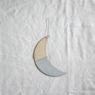 THE GREAT LAKES GOODS/ウォールチャーム〈THE MOON SEES ME (Silver)〉